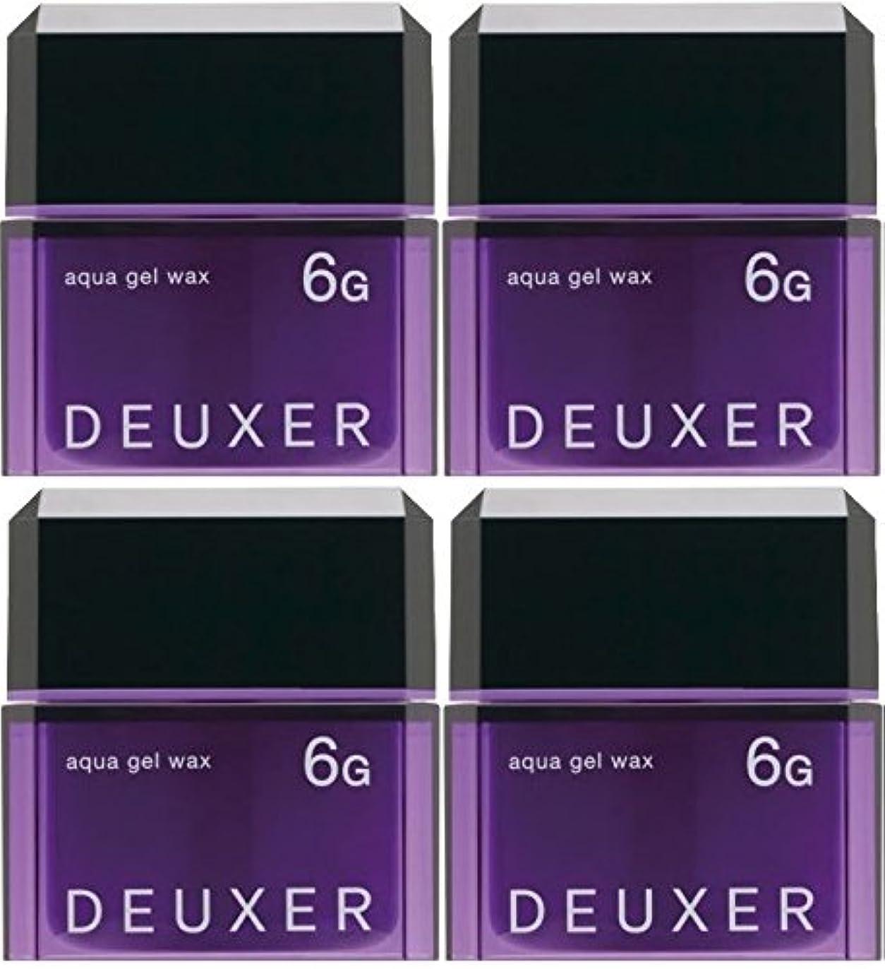 重なるスリップシューズ同級生【X4個セット】 ナンバースリー デューサー アクアジェルワックス 6G 80g