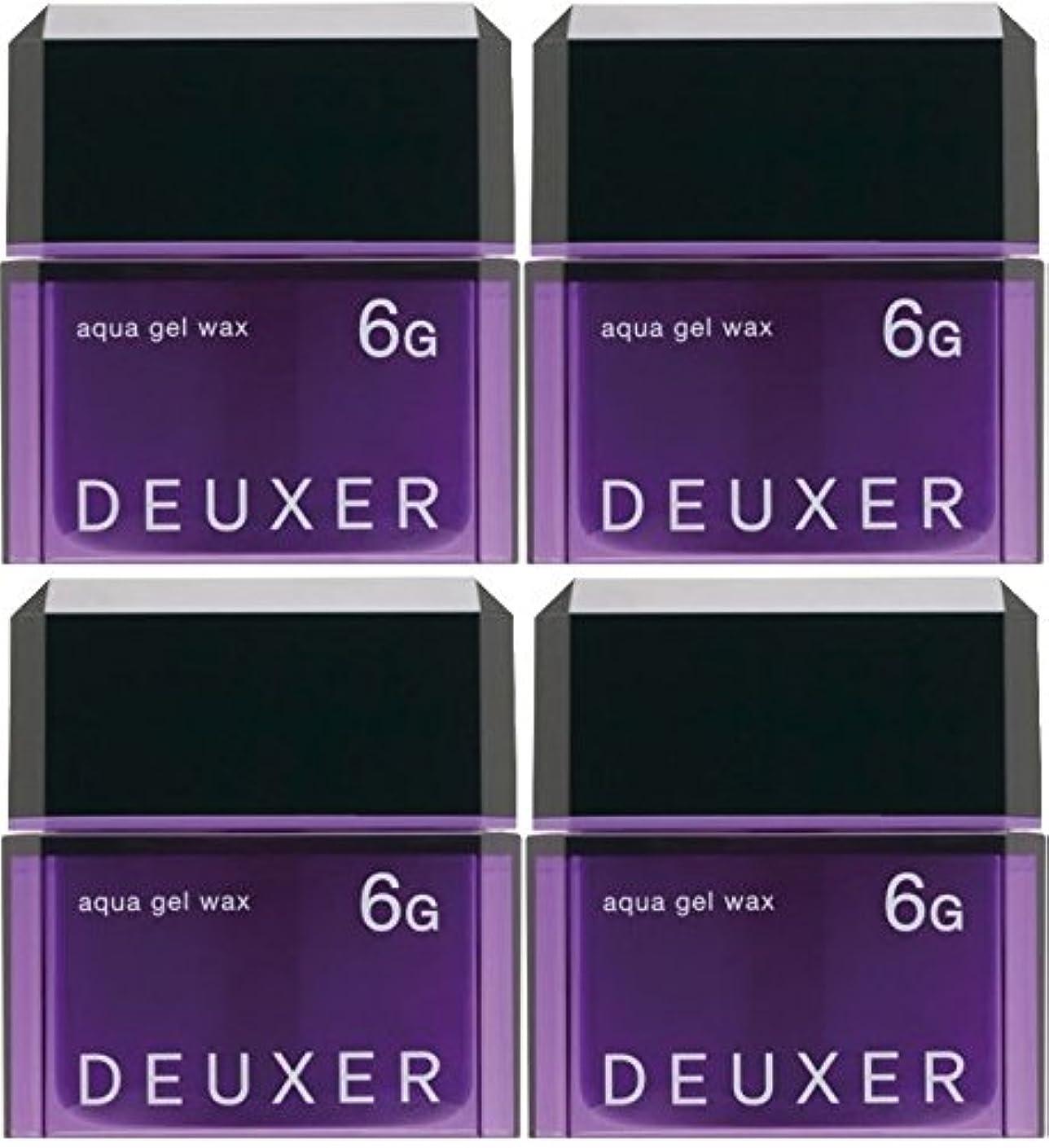独立熟達案件【X4個セット】 ナンバースリー デューサー アクアジェルワックス 6G 80g