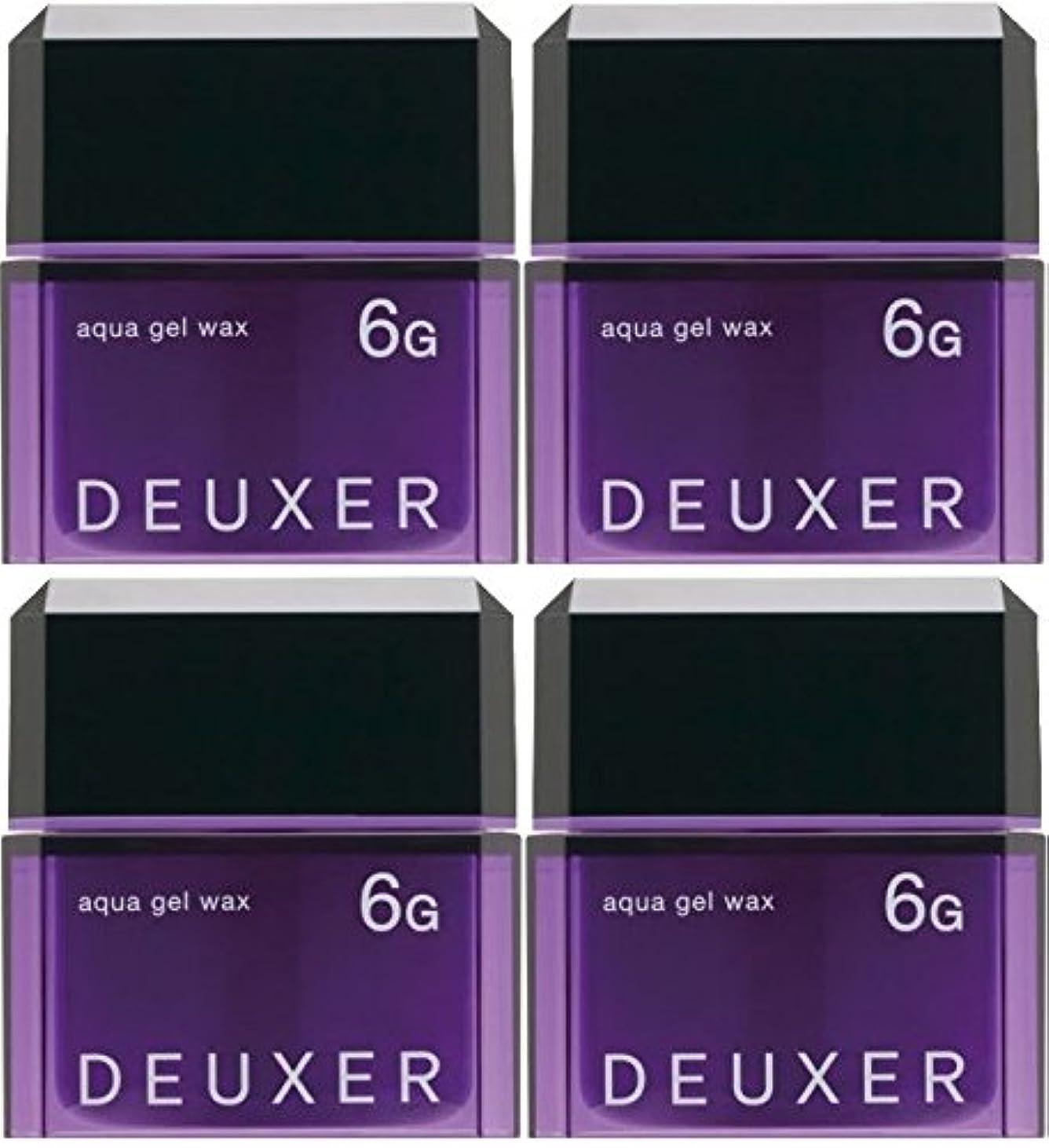 鉛筆トラックリール【X4個セット】 ナンバースリー デューサー アクアジェルワックス 6G 80g