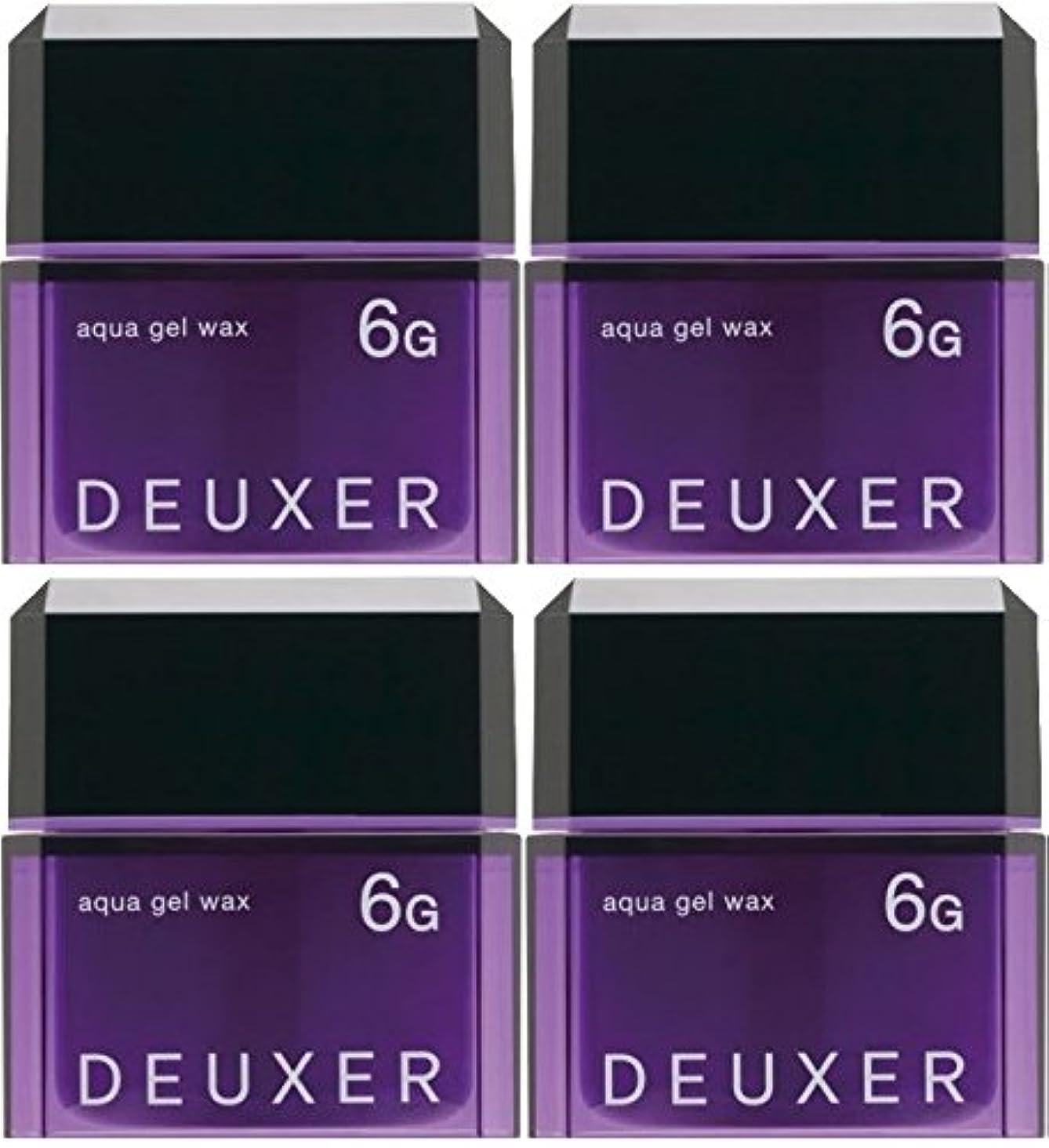 サイドボード切る発揮する【X4個セット】 ナンバースリー デューサー アクアジェルワックス 6G 80g