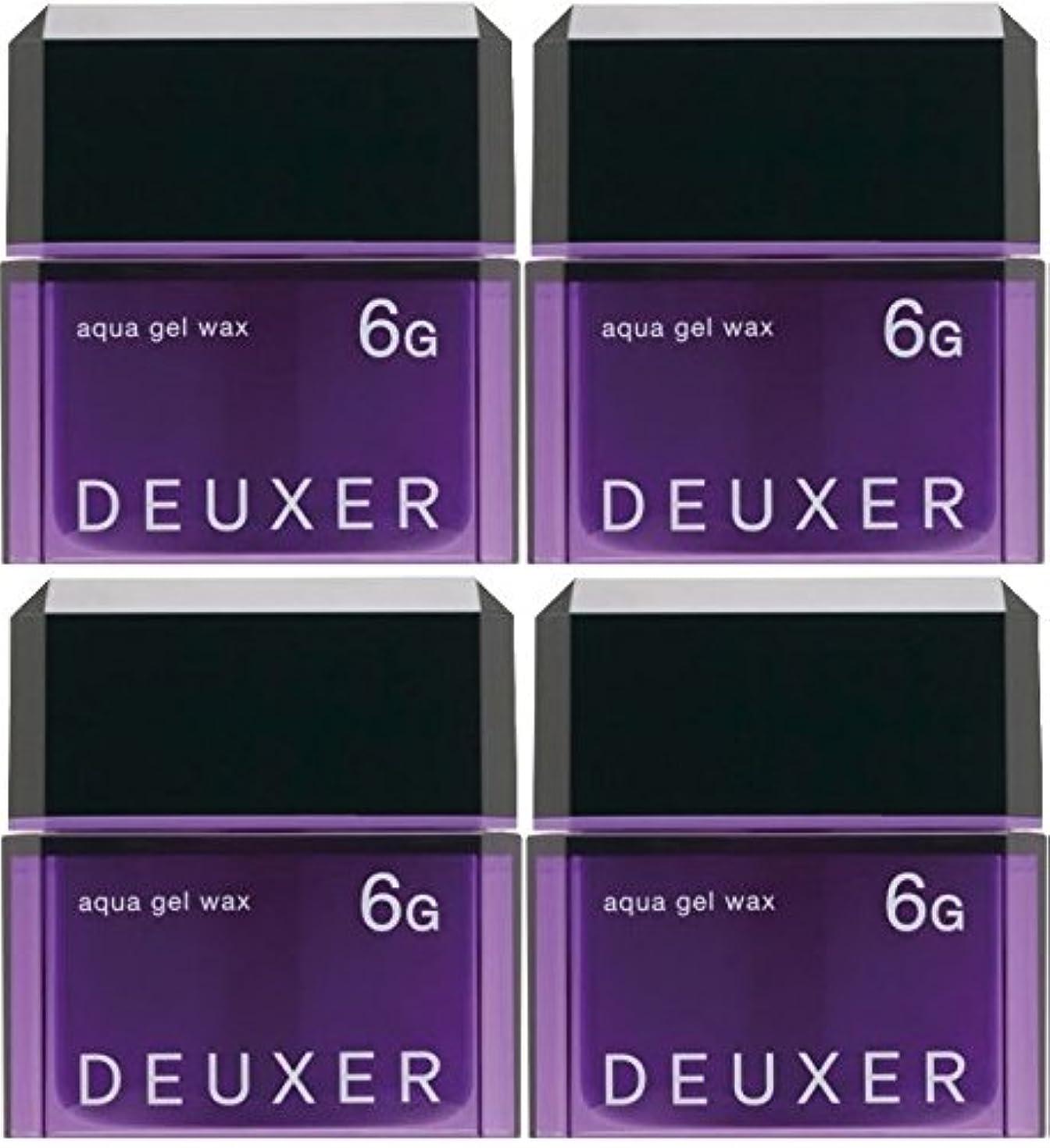 マウスペインティング旅行代理店【X4個セット】 ナンバースリー デューサー アクアジェルワックス 6G 80g