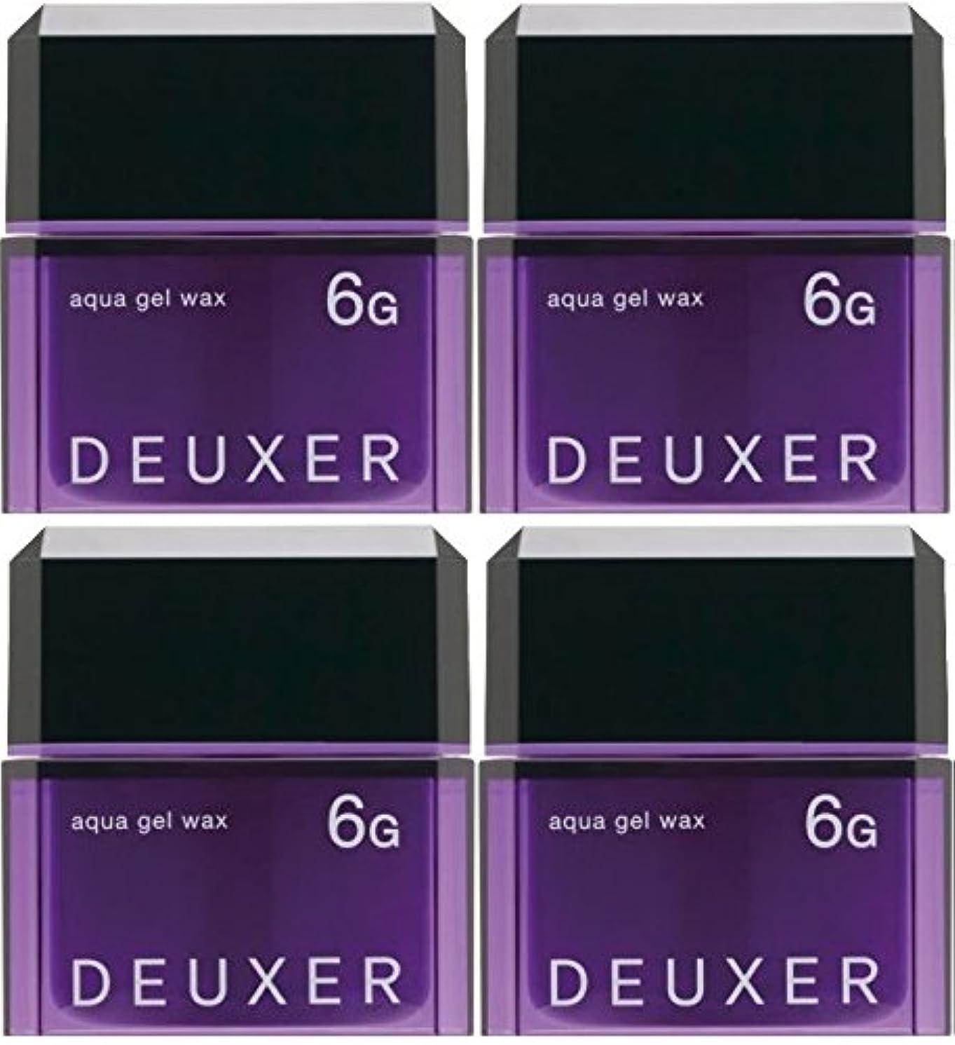 花弁気づく体操【X4個セット】 ナンバースリー デューサー アクアジェルワックス 6G 80g