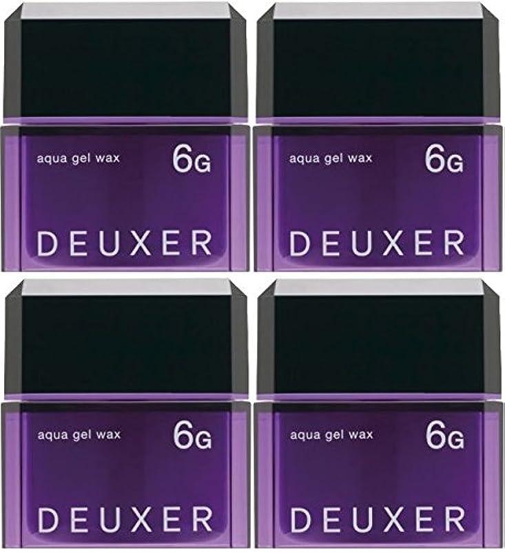 有効かなりの未就学【X4個セット】 ナンバースリー デューサー アクアジェルワックス 6G 80g