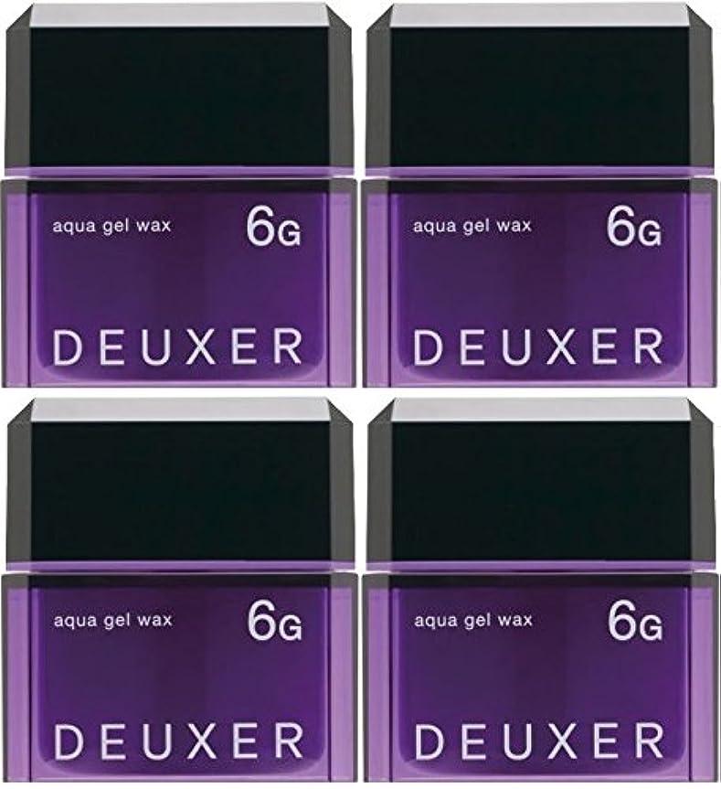 おもてなし忌まわしい反射【X4個セット】 ナンバースリー デューサー アクアジェルワックス 6G 80g