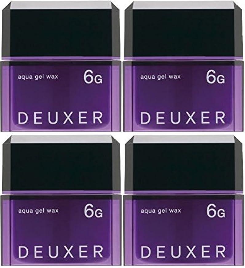 印刷する要求する致命的【X4個セット】 ナンバースリー デューサー アクアジェルワックス 6G 80g