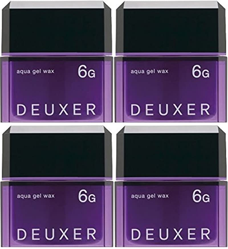世代ヘビー国家【X4個セット】 ナンバースリー デューサー アクアジェルワックス 6G 80g