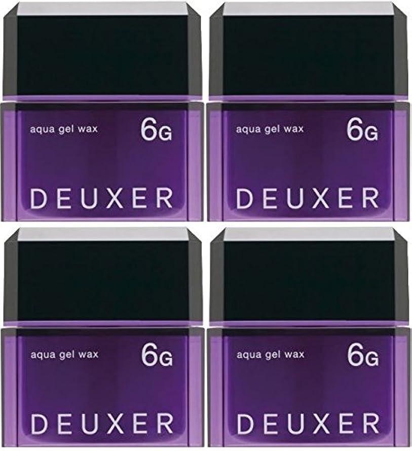 寸法人物情報【X4個セット】 ナンバースリー デューサー アクアジェルワックス 6G 80g