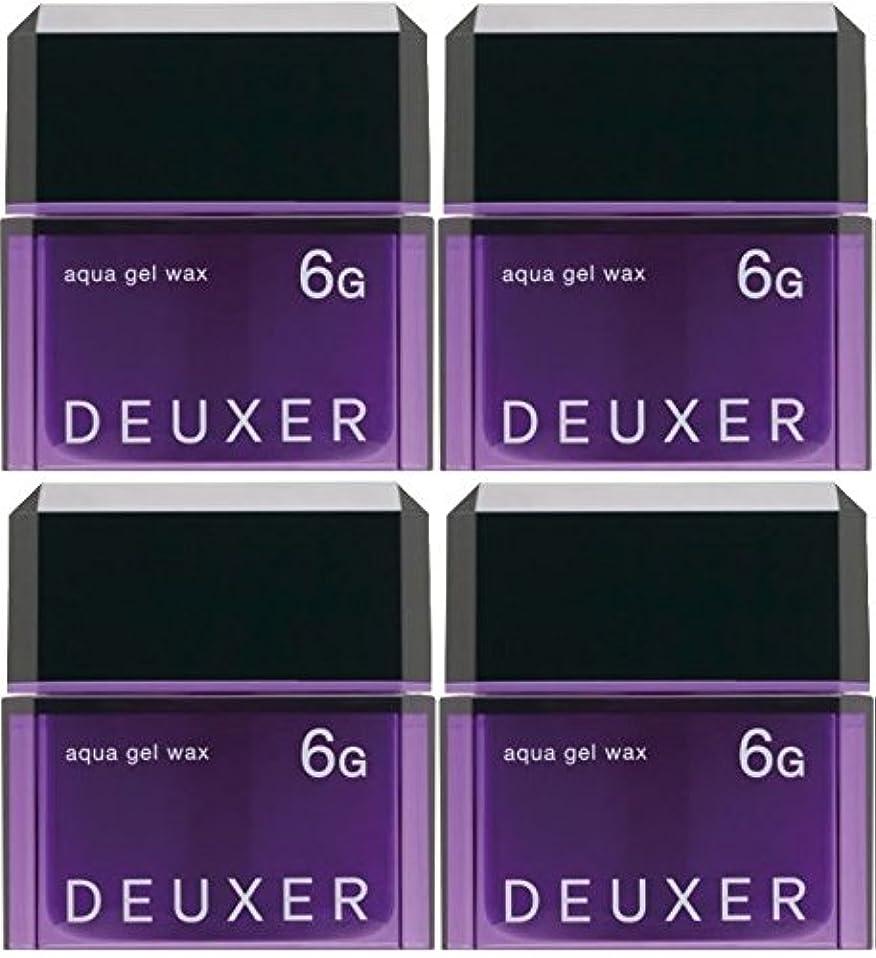 威信スタッフ援助する【X4個セット】 ナンバースリー デューサー アクアジェルワックス 6G 80g