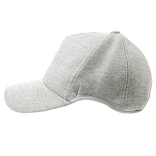 [ビッグワッチ] 帽子 ラウンド スウェット キャップ MIXグレー CPR-04 メンズ L XL