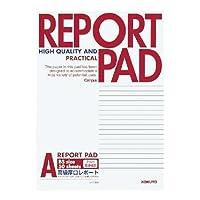 コクヨ レポート箋 表紙巻き B5 A罫 50枚 レ-735A / 10セット