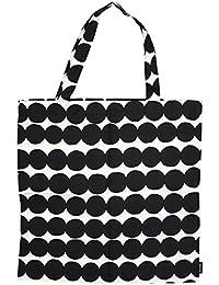 marimekko マリメッコ Fabric Bag ファブリックバッグ トートバッグ バッグ ハンドバッグ エコバッグ ウニッコ キャンバス 総柄 レディース B4 [並行輸入品]