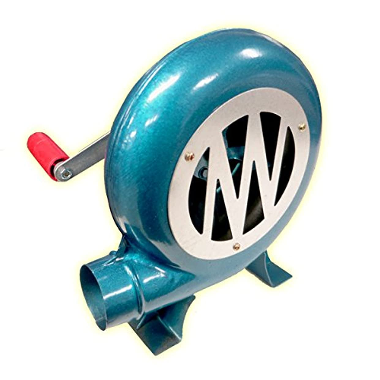 セーブ専門うがいエアブロア手動送風機150w格安B級品/手動式炭火おこし機/電源不要手動式/ハンドブロア/アウトレット品