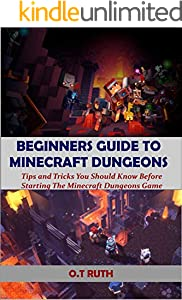 BEGINNERS GUIDE TO MINECRAFT DUNGEONS: Tips and Tricks You Should Know Before Starting The Minecraft Dungeons Game (English Edition)