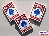 Rock Ridge Magic Masters Bicycle Combo: Invisible Svengali and a Standard Deck Red Back [並行輸入品]