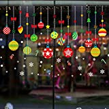 kasit クリスマス ウォールステッカー シール 壁紙 壁貼り クリスマスツリー インテリア 飾り 北欧 オーナメント パーティ 飾りつけ