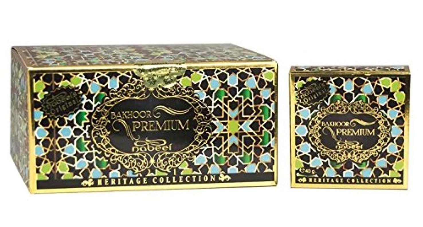 不十分立証する長方形Bakhoor Incense ( 40gm ) by Nabeel 12 pack