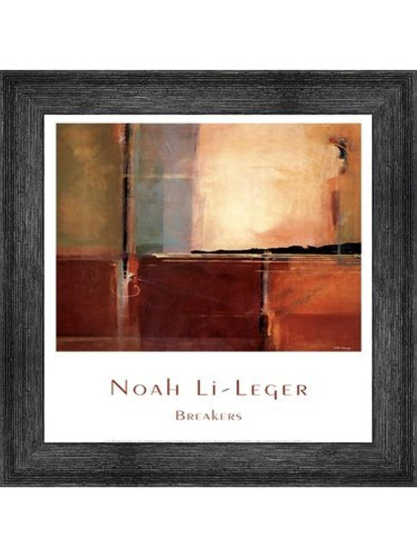 Breakers by Noah li-leger – 11.75 X 15.75インチ – アートプリントポスター LE_195129-F10588-11.75x15.75