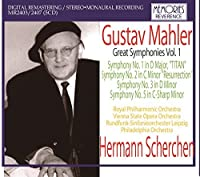 Scherchen Conducts Mahler Vol.1': Symphonies 1 (Royal Philharmonic. Studio Recording 9/5 by VARIOUS ARTISTS