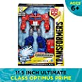 """Transformers - 11.5"""" Optimus Prime - Cyberverse Ultimate Class - Action Figure - Ages 6+"""