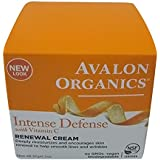 Avalon Organics Vitamin C Renewal Cream for Unisex, 2 oz, 90.72 Grams