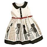 【ノーブランド 品】幼児 子供 女の子 夏 服 サンドレス プリンセスドレス チュチュスカート 全5サイズ  - 130cm