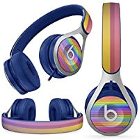 Beats EP beatsep ヘッドフォン ヘッドホン 専用スキンシール ビーツ カバー ケース 保護 フィルム ステッカー デコ カスタマイズ オプション アクセサリー デザイン クール ボーダー ストライプ 000537