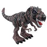 TuoHai 【 吠える!光る!大迫力! リアル 恐竜 ロボット 電動】 走る電動恐竜 恐竜おもちゃ 子供へのプレゼント 誕生日の贈り物