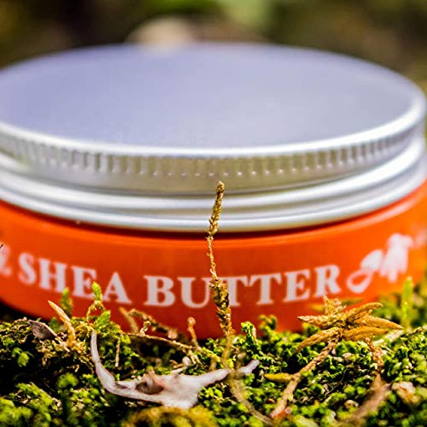 歌アカウント不条理JUJUBODY TRUE SHEA BUTTER 未精製シアバター(25g) (無香料)