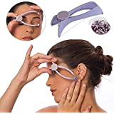 TUZECH Slique Eyebrow Face & Body Hair Threading Epilator System Kit Hair Removal Use safe and easy