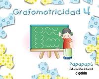Papapapú, grafomotricidad, Educación Infantil, 4 años. Cuaderno 4