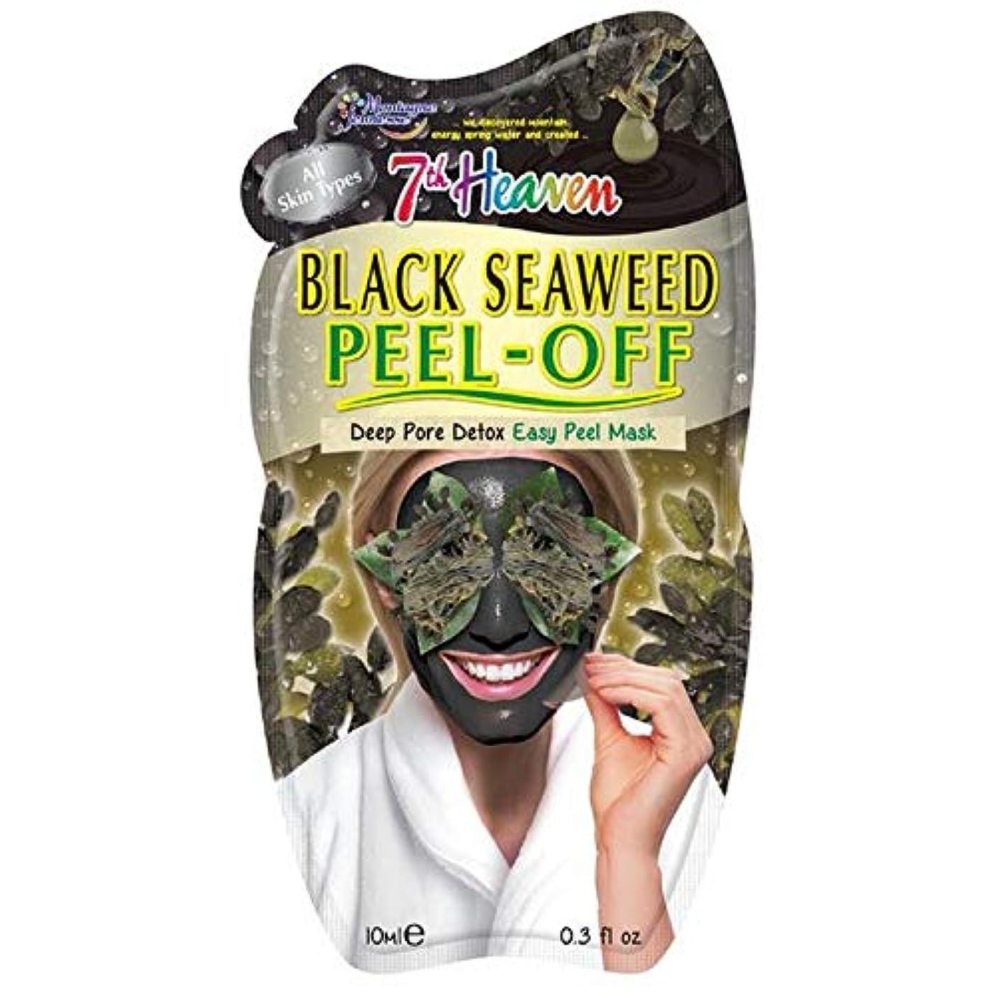 勇気のある強い呼吸[Montagne Jeunesse] モンターニュジュネス第七天国黒海藻顔仮面の10ミリリットルをはがし - Montagne Jeunesse 7th Heaven Black Seaweed Peel Off Face...