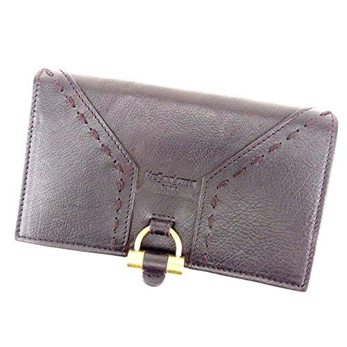 [サンローラン] SAINT LAURENT 二つ折り 財布 中長財布 レディース 161236 ミューズ 中古 美品 T6832