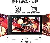 HUION 液タブKamvas Pro16 15.6インチ 傾き検知 充電不要ペン アンチグレアガラス フルラミネーションデイスプレ 8192レベル 15.6型 Adobe® RGBカバー率92% 画像