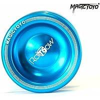 MAGICYOYO Rainbow T6 Shinning Finish Aluminum Yoyo (T6 Blue) by MAGICYOYO [並行輸入品]
