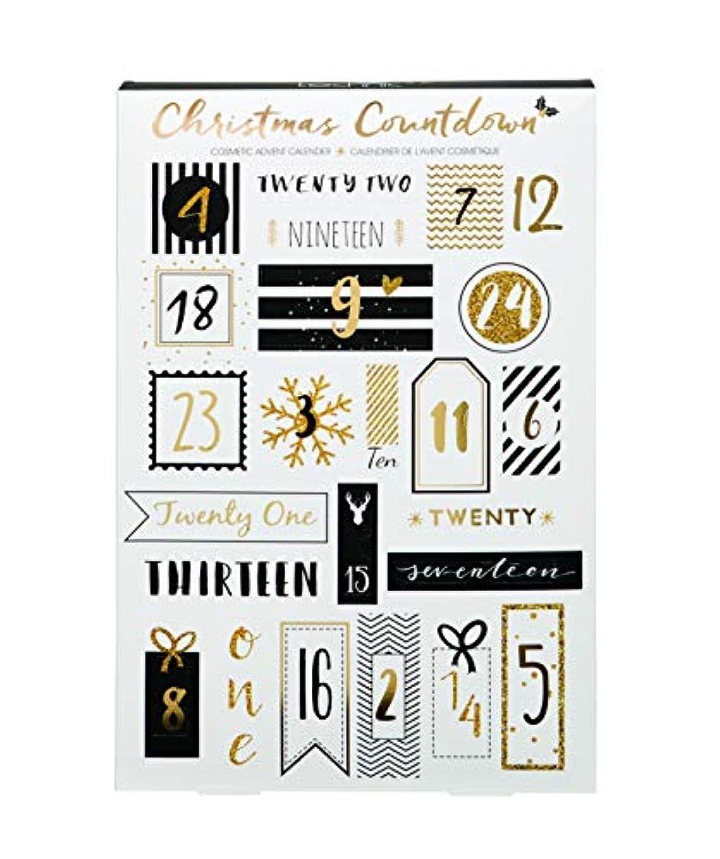 キュービック吸う描くTechnic Advent Christmas Countdown Cosmetic Calendar 化粧 アドベントカレンダー