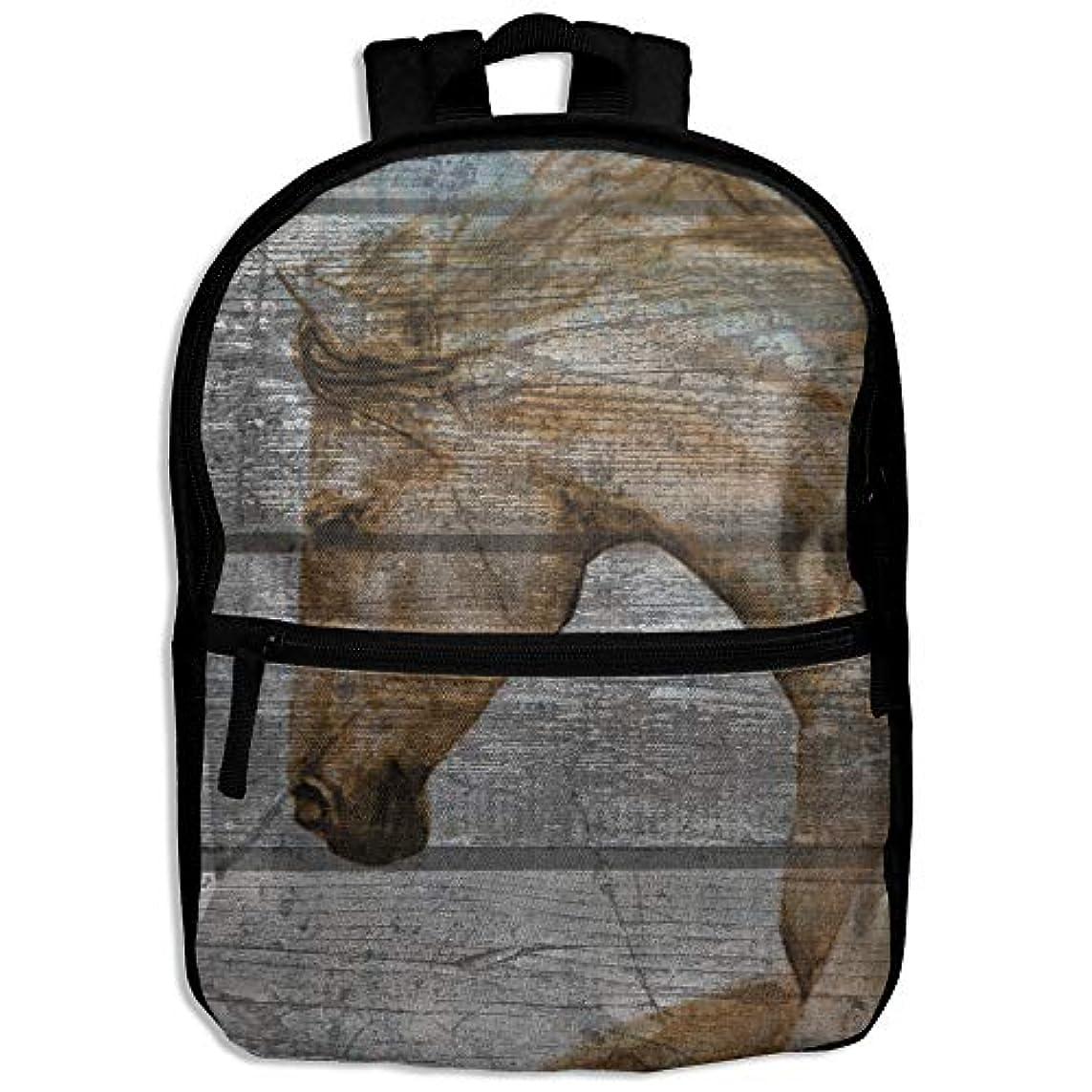 耐える静かに手荷物キッズバッグ キッズ リュックサック バックパック 子供用のバッグ 学生 リュックサック 火 馬 アウトドア 通学 ハイキング 遠足