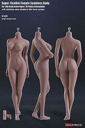 1/6スケール 超柔軟性シームレス女性素体 サンタンシリーズ バストサイズL(S12D)