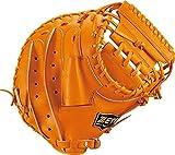 ZETT(ゼット) 野球 硬式 キャッチャーミット ネオステイタス 右投用 オレンジ(5600) LH BPCB12822