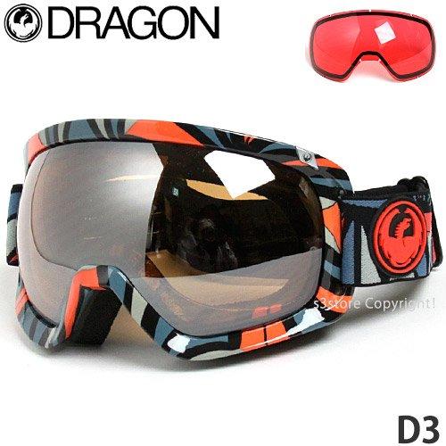 ドラゴン D3 スキー・スノボー用ゴーグル