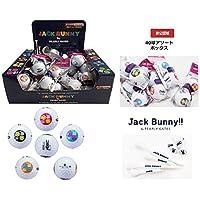 【Jack Bunny ジャックバーニー】 PEARLY GATES(パーリーゲイツ)RB・C-2 ゴルフボール (1箱/40球セット)