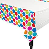 Cabana Dots Plastic Tablecover カバナドットプラスチックTablecover?ハロウィン?クリスマス?