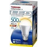 東芝 E-CORE(イー・コア) LED電球 一般電球形7.1W(口金直径26mm・500ルーメン・電球色) LDA7L-H