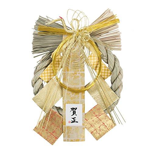【 選べる 8種】 しめ縄 正月飾り リース 干支 迎春飾り (G13★24...