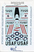 Super Scale Decals 1:48 North American F-86D-50-NA C.O. 524th FIS #48-883** by Super Scale Decals [並行輸入品]