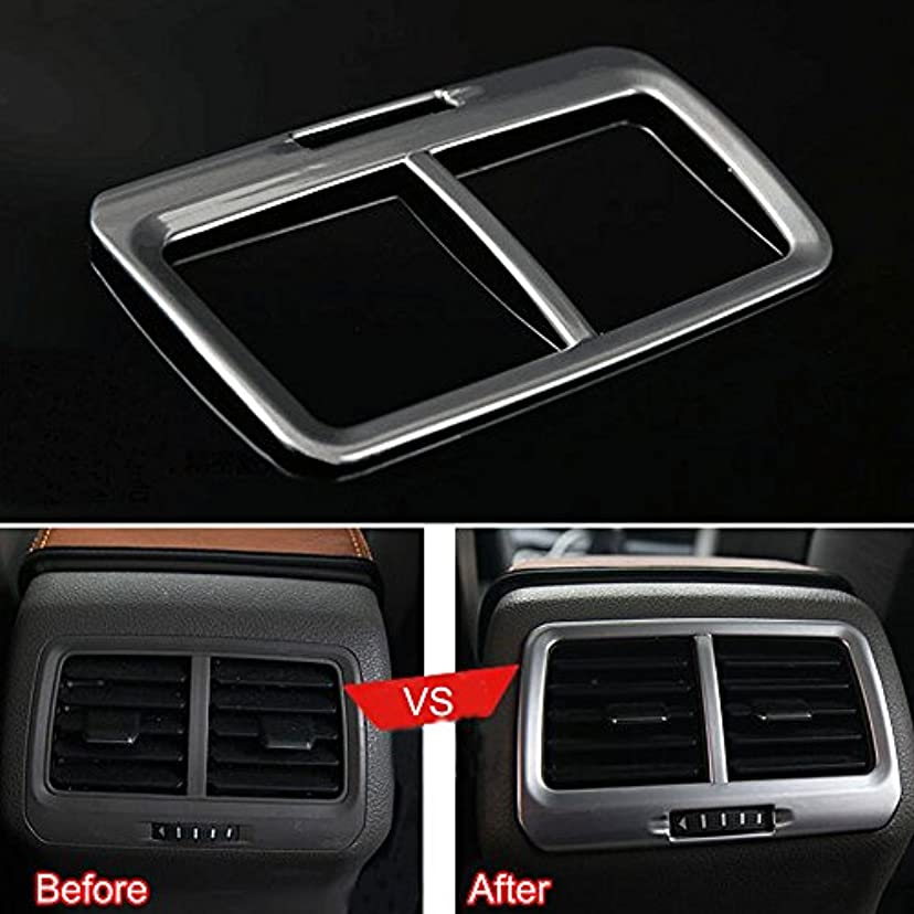 原点岩過半数Jicorzo - Silver A/C Outlet Vent Frame Cover Trim ABS Interior Car Styling Fit for VW Golf 7 MK7 2014 2015