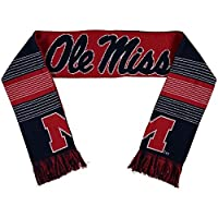 Forever Collectibles Ole Miss Rebels Split Logo Reversible Scarf スポーツ用品 No_Size 【並行輸入品】