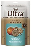 Nutro ULTRA Healthy Digestion Blend All Natural Dog Biscuits With Oatmeal and Pumpkin, 16 oz. by Nutro