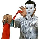 「うらら トリック 」 手品 マジック 携帯電話を通り抜けるハンカチーフ ( うららトリック制作?説明動画 +持ち運び用袋 付き)スマホ