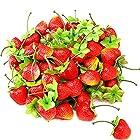 KMR factory 食品サンプル ヘタ付き イチゴ 20個セット インテリア プレゼントに