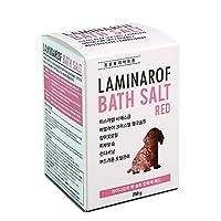 [Laminarof] Pet Bath Salt, ペット用バスソルト(3タイプより1つ選択 - Red, Blue, White)、犬 猫、毛質ケア、ストレス解消、ミネラル、コンディショニング、有害物質フリー、天然成分 (Red)